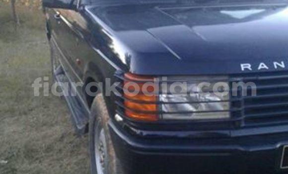 Acheter Voiture Land Rover Range Rover Noir à Antananarivo en Analamanga