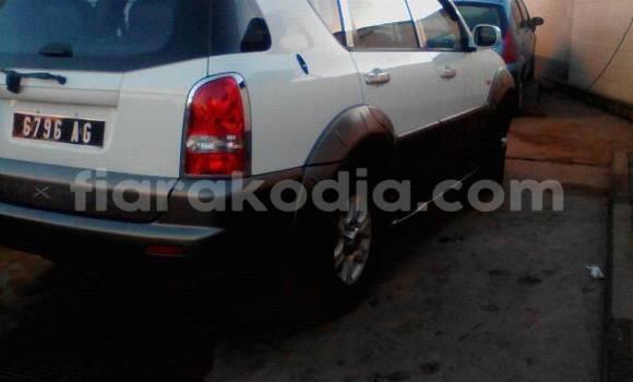Acheter Voiture SsangYong Rexton Blanc à Antananarivo en Analamanga